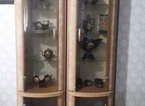 فروش فوری  بوفه ی دوقلوی چوبی در حدنو (جای صحبت هم دارد)   در شیپور-عکس کوچک