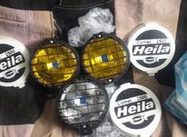 3عدد چراغ پروژوکتور بزرگ شامل 2 عدد زرد ویکعدد سفید در شیپور-عکس کوچک