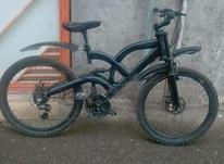 دوچرخه کاملا سالم دنده ای در شیپور-عکس کوچک