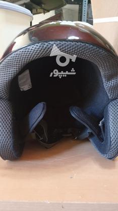 کلاه کاسکت بدون شیلد در گروه خرید و فروش وسایل نقلیه در آذربایجان شرقی در شیپور-عکس3