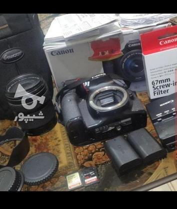 دوربین 70 d  در گروه خرید و فروش لوازم الکترونیکی در تهران در شیپور-عکس2