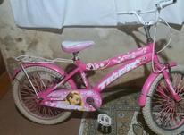 دوچرخه دخترانه صورتی سایز 20 در شیپور-عکس کوچک