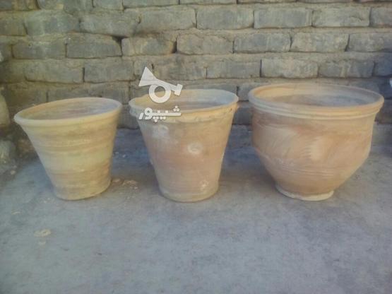 6عدد گلدان سفالی و سرامیکی در گروه خرید و فروش لوازم خانگی در خراسان شمالی در شیپور-عکس2