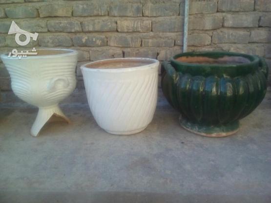 6عدد گلدان سفالی و سرامیکی در گروه خرید و فروش لوازم خانگی در خراسان شمالی در شیپور-عکس4