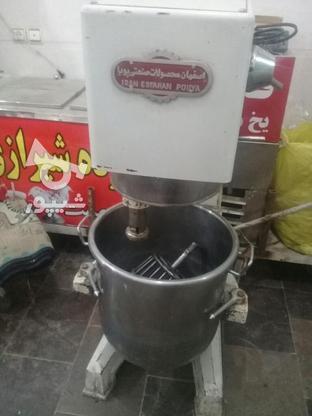 خمیرگیر پهن کن عسگری میکسر  در گروه خرید و فروش صنعتی، اداری و تجاری در تهران در شیپور-عکس3
