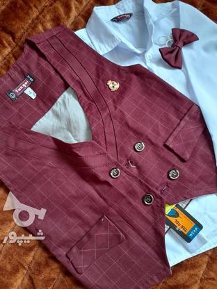 لباس سه تیکه پسرانه سایز 4 در گروه خرید و فروش لوازم شخصی در خراسان رضوی در شیپور-عکس2