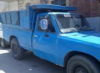 وانت نیسان کرایه جک دار حمل نخاله اثاثیه منزل  در شیپور-عکس کوچک