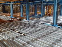 تولید و اجرای تخصصی سقف کامپوزیت عرشه فولادی در شیپور