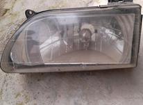 یک جفت چراغ جلو پراید 141 و یک جفت راهنما جلو در شیپور-عکس کوچک