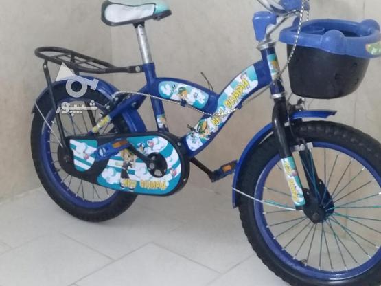 دوچرخه بجه گانه 16 در حد نو در گروه خرید و فروش ورزش فرهنگ فراغت در آذربایجان شرقی در شیپور-عکس2