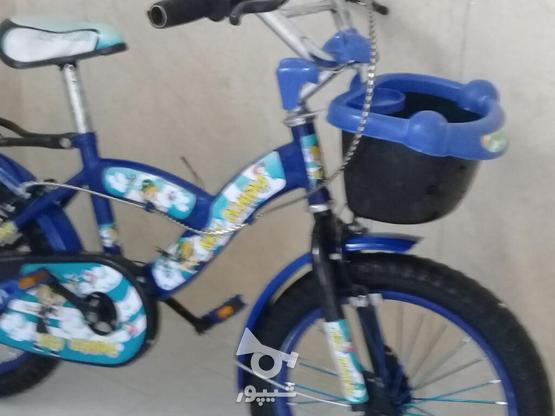 دوچرخه بجه گانه 16 در حد نو در گروه خرید و فروش ورزش فرهنگ فراغت در آذربایجان شرقی در شیپور-عکس1