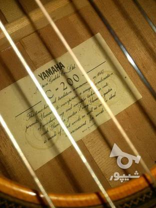 گیتار یاماها c200ژاپن در گروه خرید و فروش ورزش فرهنگ فراغت در کرمان در شیپور-عکس3