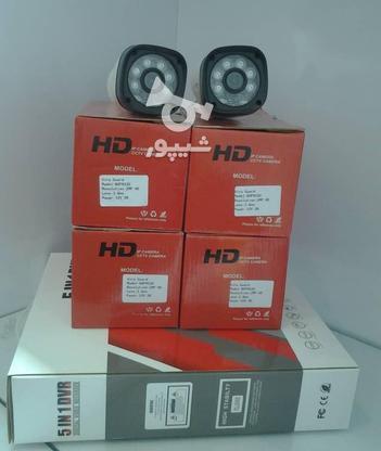 دی وی آر 4 کانال و 2 دستگاه دوربین مداربسته فول اچ دی  در گروه خرید و فروش لوازم الکترونیکی در تهران در شیپور-عکس1