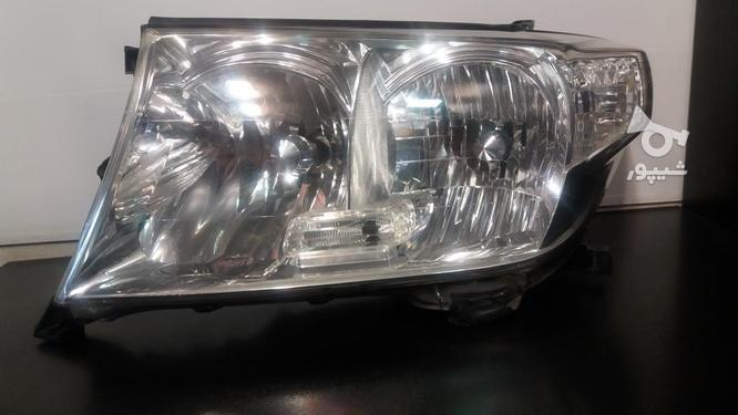 چراغ جلو لندکروز اصلی در حد نو جفت  در گروه خرید و فروش وسایل نقلیه در مازندران در شیپور-عکس2