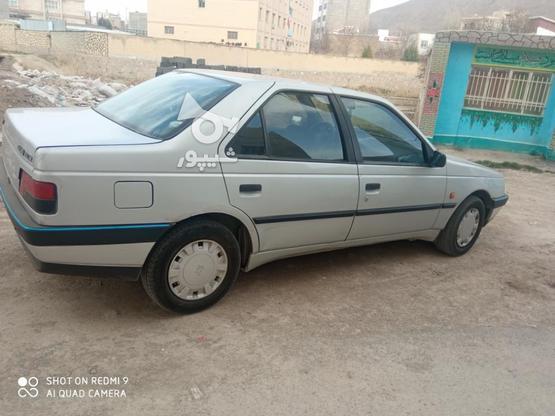 پژو 405 نقره ای  در گروه خرید و فروش وسایل نقلیه در تهران در شیپور-عکس2