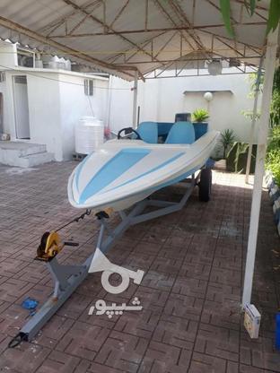 قایق فرمونی فیلچر 14 فوت موتور 55 در گروه خرید و فروش وسایل نقلیه در مازندران در شیپور-عکس1