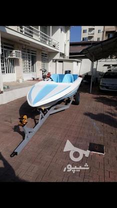 قایق فرمونی فیلچر 14 فوت موتور 55 در گروه خرید و فروش وسایل نقلیه در مازندران در شیپور-عکس2