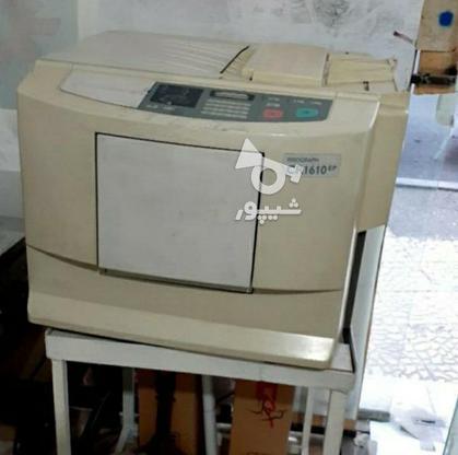 دستگاه تراکت زن ریسو cr1610 در گروه خرید و فروش صنعتی، اداری و تجاری در البرز در شیپور-عکس2