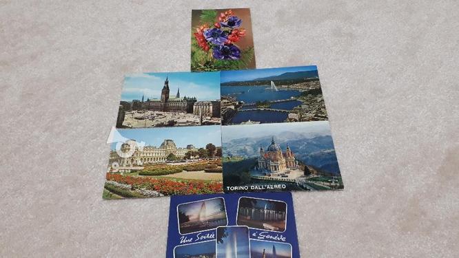 6 عدد کارت پستال خارجی گردشگری در گروه خرید و فروش ورزش فرهنگ فراغت در خوزستان در شیپور-عکس1