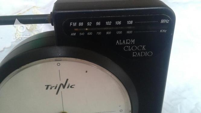 رادیو ساعت  تری نیک در گروه خرید و فروش لوازم خانگی در اصفهان در شیپور-عکس3