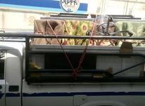 راننده مسلط به وانت و بستن بار در شیپور-عکس کوچک