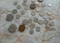 سکه قدیمی با در شیپور-عکس کوچک