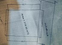 چالوس زمین 219 متر قطعه سوم رینگ 45 متر در شیپور-عکس کوچک