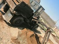 دامپر چهار چرخ .جفت دفر. بیل بغل. در شیپور-عکس کوچک