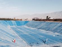 استخر ژئوممبران و آبیاری تحت فشار در شیپور
