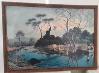 تابلو نقاشی رنگ روغن عتیقه در شیپور-عکس کوچک
