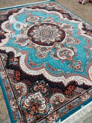 فرش عقیق دربار شهیاد و باغ بهشت 700 شانه اصل تمام نخ  در گروه خرید و فروش لوازم خانگی در مازندران در شیپور-عکس5