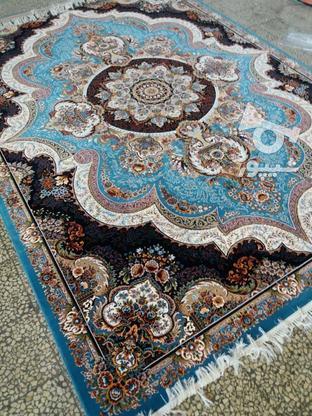 فرش عقیق دربار شهیاد و باغ بهشت 700 شانه اصل تمام نخ  در گروه خرید و فروش لوازم خانگی در مازندران در شیپور-عکس2