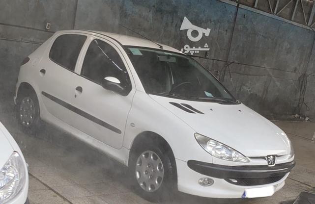206 تیپ 5 سفید سالم و بی رنگ در گروه خرید و فروش وسایل نقلیه در تهران در شیپور-عکس2
