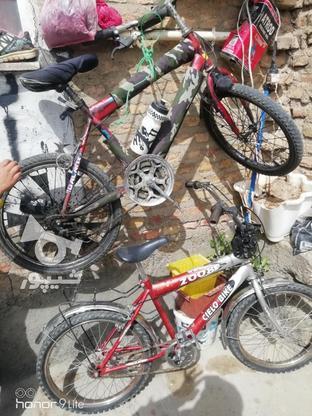 فروش دوعدد دوچرخه.بدون خرج در گروه خرید و فروش ورزش فرهنگ فراغت در آذربایجان غربی در شیپور-عکس2