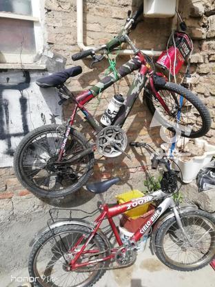 فروش دوعدد دوچرخه.بدون خرج در گروه خرید و فروش ورزش فرهنگ فراغت در آذربایجان غربی در شیپور-عکس1