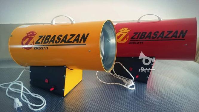 جت هیتر 25 کیلو وات گازی برای کار سقف کشسان و آسمان مجازی در گروه خرید و فروش صنعتی، اداری و تجاری در زنجان در شیپور-عکس3