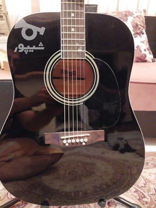 گیتار اکوستیک استگ همراه با پایه گیتار در گروه خرید و فروش ورزش فرهنگ فراغت در البرز در شیپور-عکس4