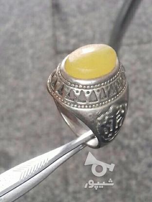 انگشترنقره دست ساز در گروه خرید و فروش لوازم شخصی در زنجان در شیپور-عکس2