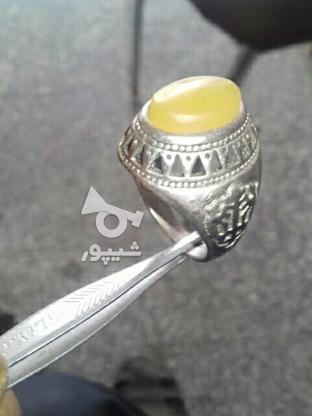 انگشترنقره دست ساز در گروه خرید و فروش لوازم شخصی در زنجان در شیپور-عکس1