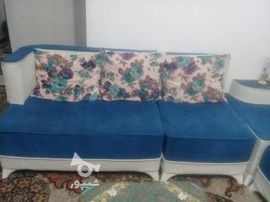 مبل ال هفت نفره بامیزعسلی در گروه خرید و فروش لوازم خانگی در کرمانشاه در شیپور-عکس1