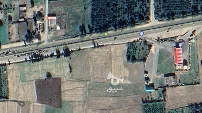 زمین بر جاده اصلی بهشهربه گرکان  در گروه خرید و فروش املاک در مازندران در شیپور-عکس1
