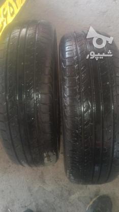 لاستیک سمند چینی سالم سالم بدونه پنچری  در گروه خرید و فروش وسایل نقلیه در مازندران در شیپور-عکس4