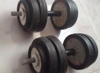 دمبل وزن کل16کیلو در شیپور-عکس کوچک