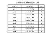 9عدد خط ایرانسل رند 09057038865 در شیپور-عکس کوچک