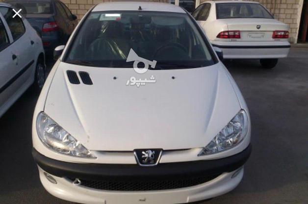 پژو 206 (تیپ2) 1400 سفید در گروه خرید و فروش وسایل نقلیه در تهران در شیپور-عکس1