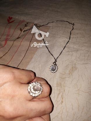انگشتر در نجف وگردن بند نقره در گروه خرید و فروش لوازم شخصی در خراسان رضوی در شیپور-عکس2