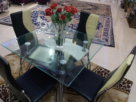 میز ناهارخوری 4نفره در گروه خرید و فروش لوازم خانگی در مازندران در شیپور-عکس1