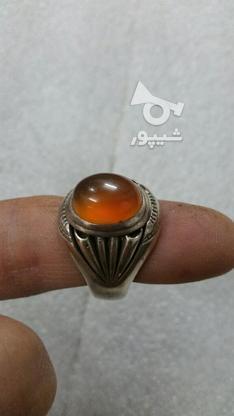 انگشتر عقیق ابدارزیبا سنگ طبیعی بینظیر  در گروه خرید و فروش لوازم شخصی در زنجان در شیپور-عکس3