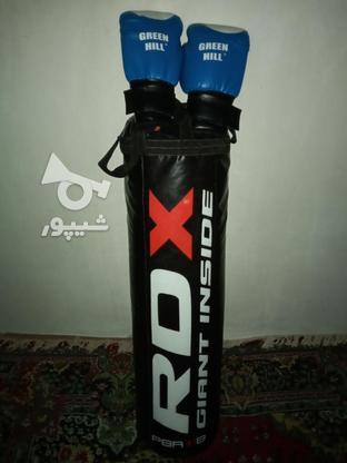 کیسه بکس مشکی RDX در گروه خرید و فروش ورزش فرهنگ فراغت در گیلان در شیپور-عکس1