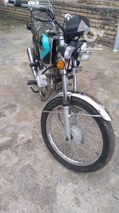 موتور 125 پلاک ملی  در گروه خرید و فروش وسایل نقلیه در اردبیل در شیپور-عکس4